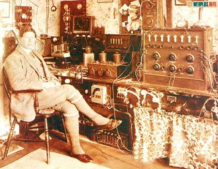 Из прошлого в будущее. Поздравляю с Днём радио и связи