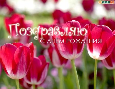 Поздравляю с Днём рождения