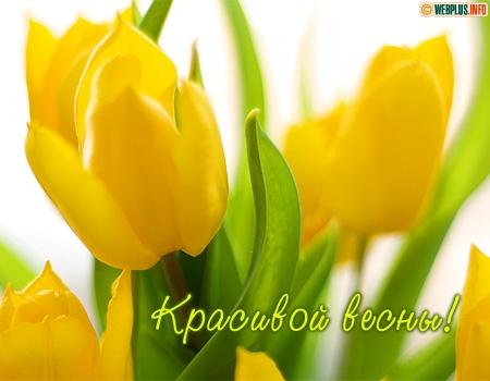 Желаю красивой весны