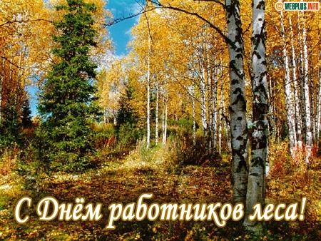 С Днём работника леса