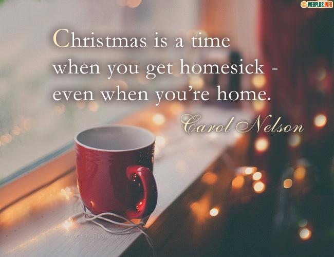 Feeling homesick
