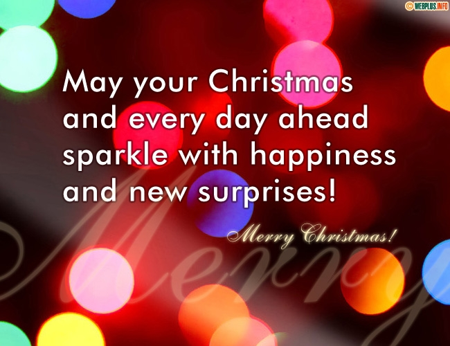 May your Christmas sparkle