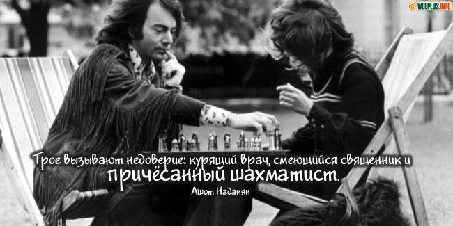 Причёсанный шахматист