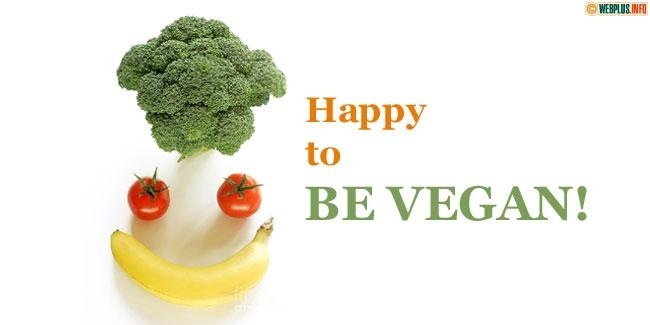Happy to be Vegan