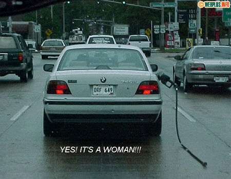 Its a woman!