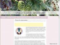 Сайт: Оздоровление организма