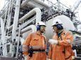 Рабочие.   День нефте-газовой промышленности.   Параметры оригинала картинки 1024 X 768   135238 byte