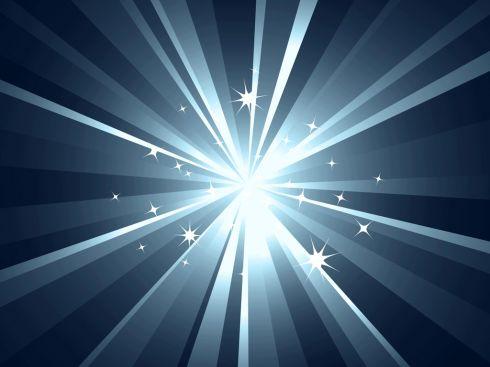 Сияние света абстракция параметры