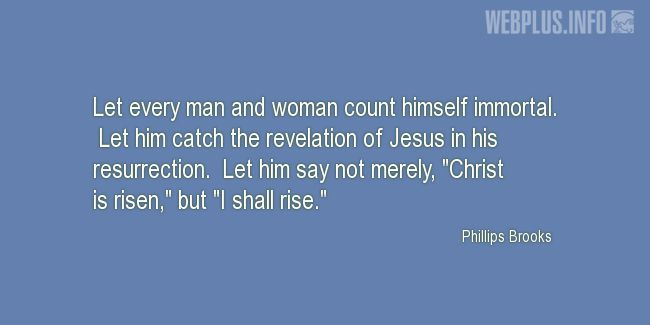 Quotes and pictures for Easter Quotes, Sayings, Verses, Poems. «I shall rise» quotation with photo.