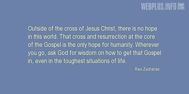 Quotes and pictures for Easter Quotes, Sayings, Verses, Poems. «Hope for this world» quotation with photo.