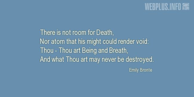 Quotes and pictures for Easter Quotes, Sayings, Verses, Poems. «Thou art may never be destroyed» quotation with photo.