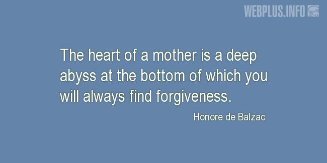 Quotes and pictures for Mother's heart. «Heart of a mother» quotation with photo.