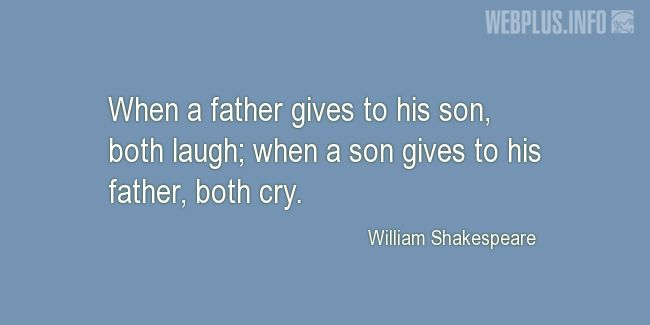 Quotes and pictures for Fathers and sons. «Both cry» quotation with photo.