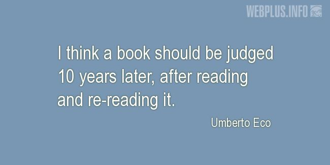 Quotes and pictures for About reading. «10 years later» quotation with photo.