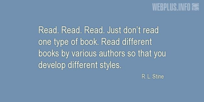 Quotes and pictures for About reading. «Read» quotation with photo.