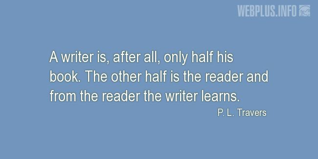 Quotes and pictures for About books. «The other half» quotation with photo.