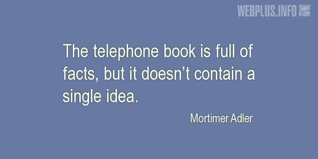 Quotes and pictures for Funny. «Telephone book» quotation with photo.