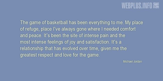 Quotes and pictures for Basketball. «Everything to me» quotation with photo.
