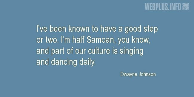 Quotes and pictures for Samoa. «Part of our culture» quotation with photo.