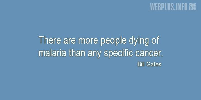 Quotes and pictures for Malaria. «Dying of malaria» quotation with photo.