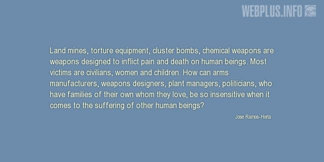 Quotes and pictures for Chemical Warfare. «Designed to inflict pain and death on human beings» quotation with photo.