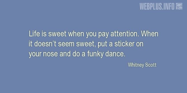Quotes and pictures for Dance. «Do a funky dance» quotation with photo.
