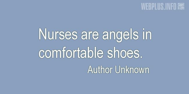 Quotes and pictures for Funny. «Angels in comfortable shoes» quotation with photo.