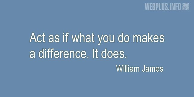 Quotes and pictures for Making a difference. «It does» quotation with photo.