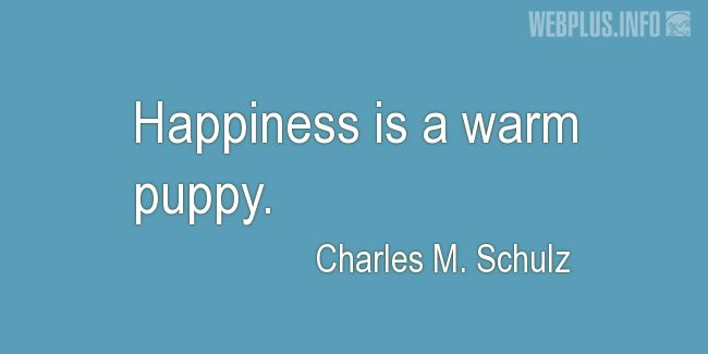 Quotes and pictures for Homeless animals, Adopting animals. «Happiness» quotation with photo.