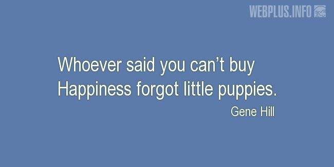 Quotes and pictures for Funny. «Little puppies» quotation with photo.