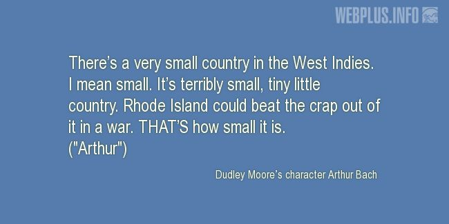 Quotes and pictures for Rhode Island. «Small» quotation with photo.