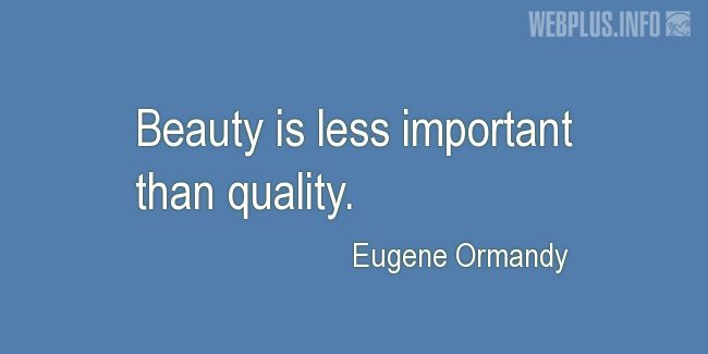 Quotes and pictures for About Quality Assurance and Quality Control Process. «Less important» quotation with photo.