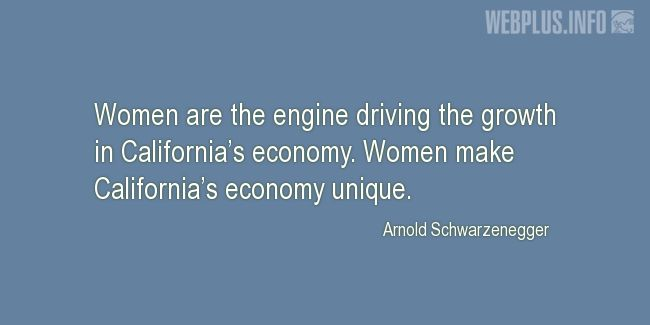 Quotes and pictures for California. «Women» quotation with photo.
