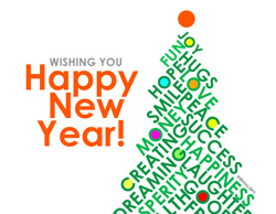 eCard - Wishing you Happy New Year