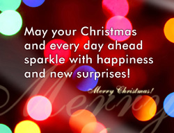 eCard - May your Christmas sparkle