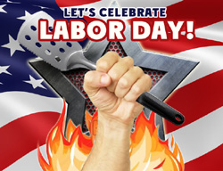 eCard - Let's celebrate Labor Day