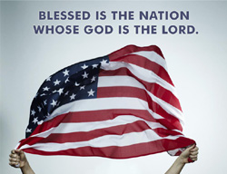 eCard - Blessed is the Nation