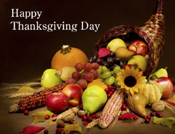 eCard - Happy Thanksgiving Day
