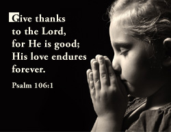 eCard - Give thanks to the Lord