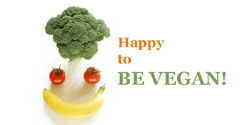 eCard - Happy to be Vegan