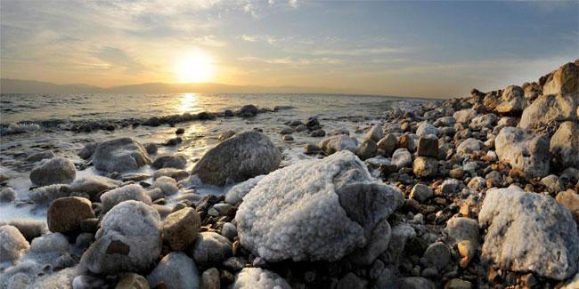 Мертвое море - ниже всякого моря