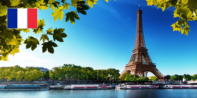 Holidays in France for 2020-2021 year
