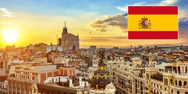 Holiday Calendar for Spain for 2020-2021 year