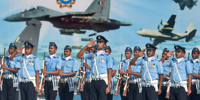 8 October - Air Force Day in India