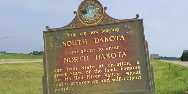 2 November - Statehood Day in North Dakota and South Dakota