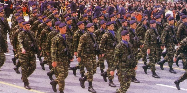 21 November - Armed Forces Day in Greece