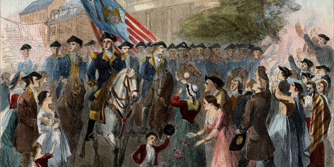 25 November - Evacuation Day in New York