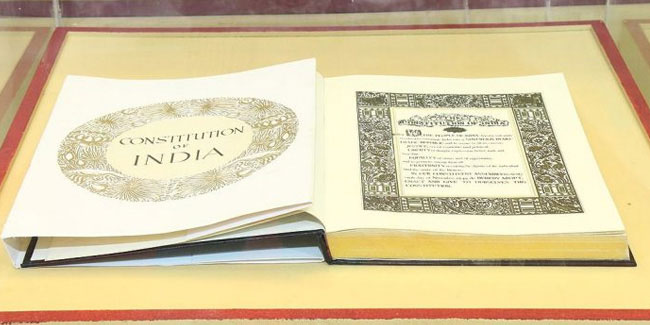 26 November - Constitution Day in India