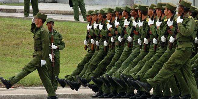 2 December - Armed Forces Day in Cuba
