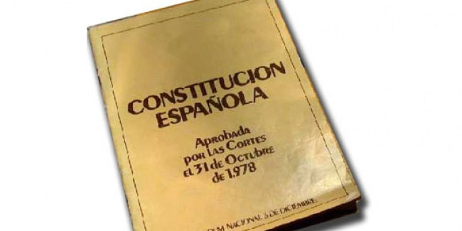 6 December - Constitution Day in Spain